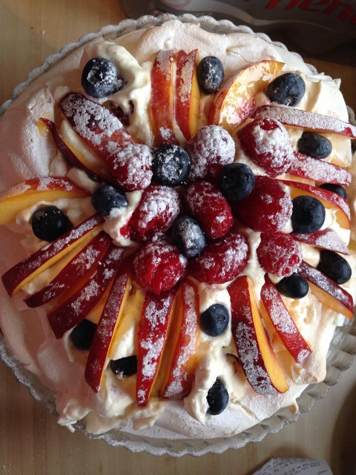 Fresh Fruit Pavlova