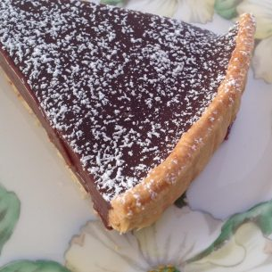 Easy Chocolate Tart – Bearby style!