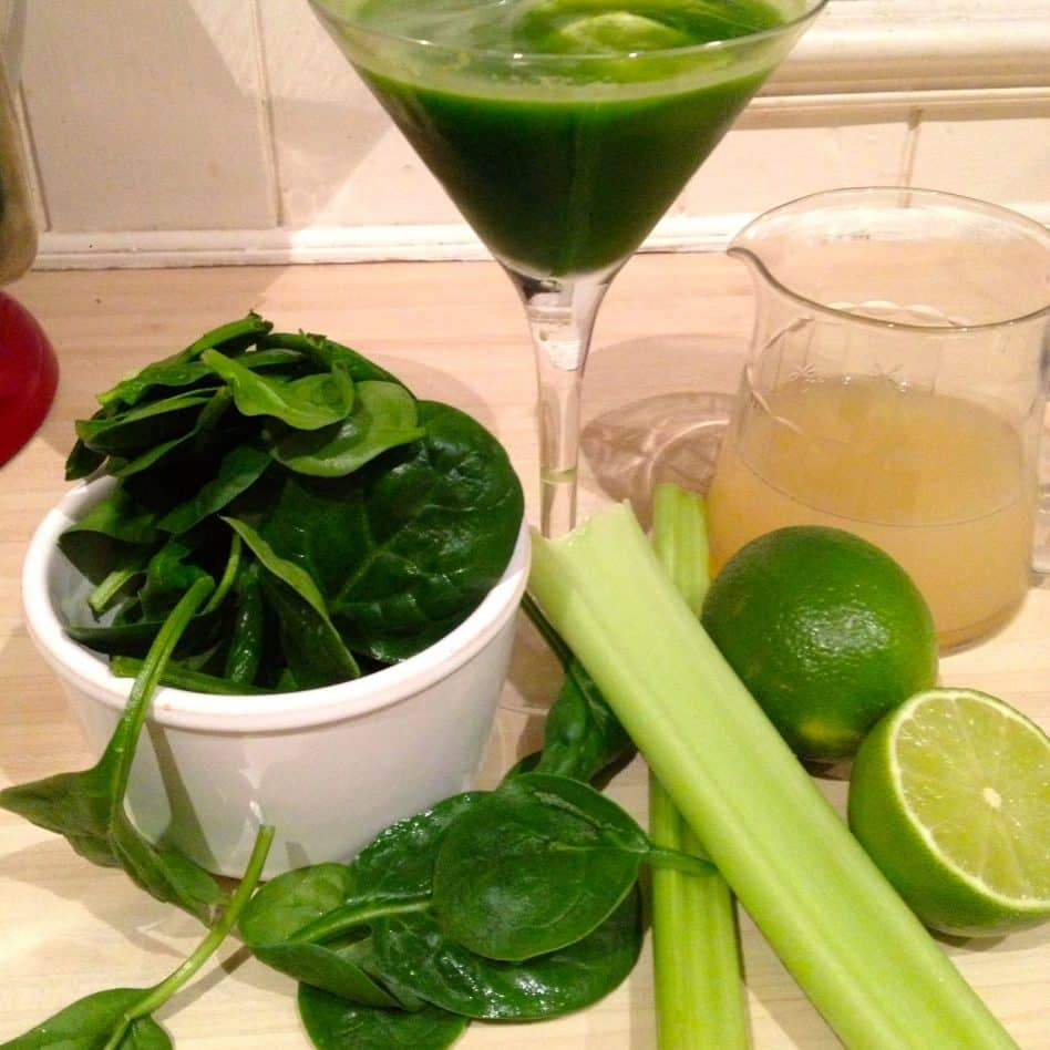 Green Juice! Get over the greens smoothie