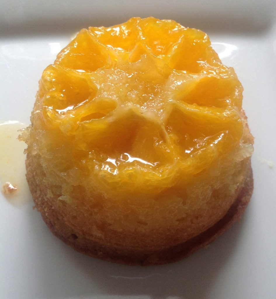 Clementine Upside Down Puddings