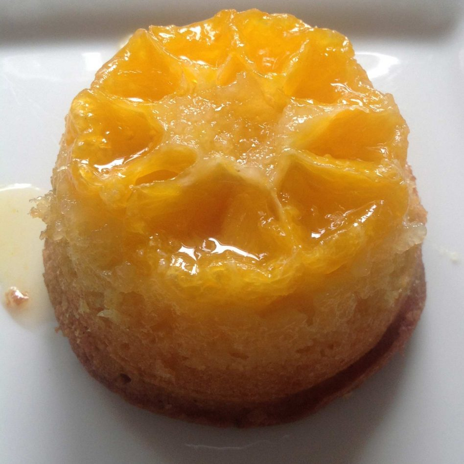 Easy Clementine Upside Down Puddings