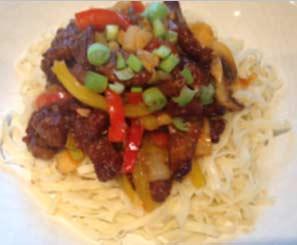 Easy Crispy chilli beef