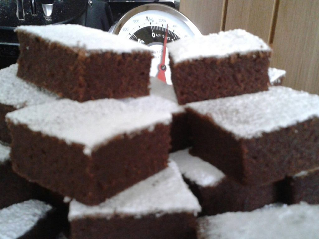 Chocolate Courgette Brownies
