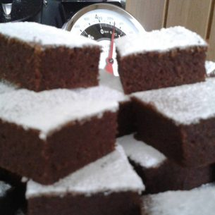 Courgette Chocolate Brownies
