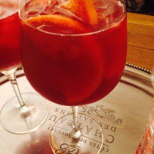 Strawberry & Watermelon Sangria