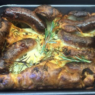 Easy Toad in the Hole or Sausage Toad?