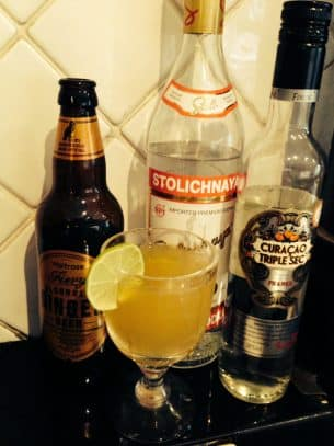 Ginger Ninja Cocktail