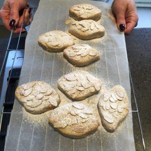 Italian Ricciarelli Biscuits