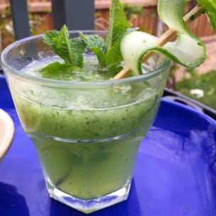 Cucumber & Gin Cocktail