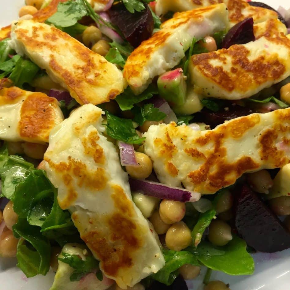 Halloumi Salad…. all hail the Halloumi