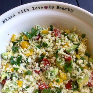 Cauliflower Rice Salad
