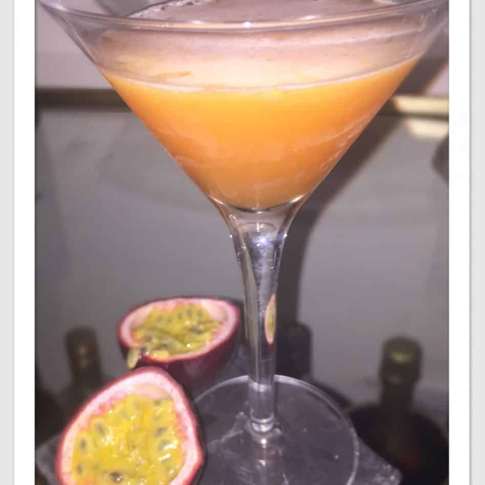 Passion Fruit Margarita …  Overload!