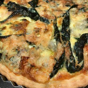Cavolo Nero Bacon & Blue Cheese Tart