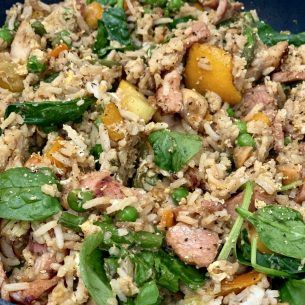 Easy Dirty Rice – Slimming Style