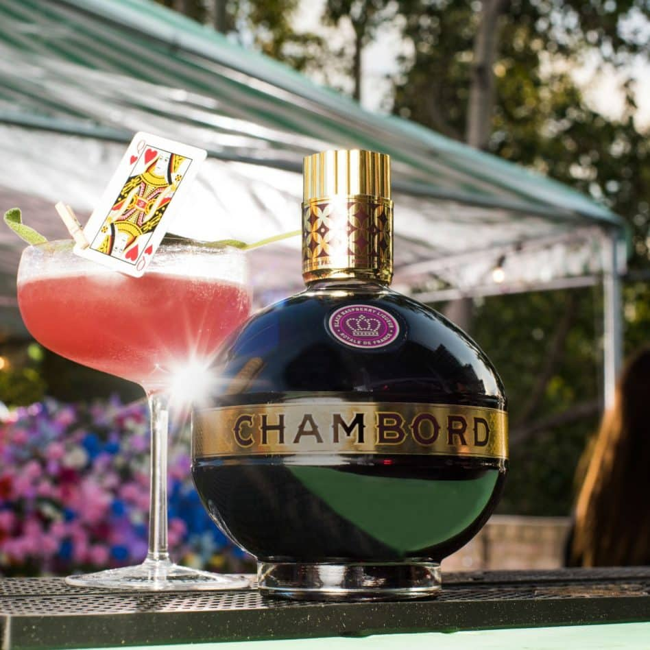Chambord's Queen of Hearts Cocktail