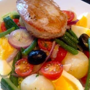 Tuna Nicoise Salad, easy