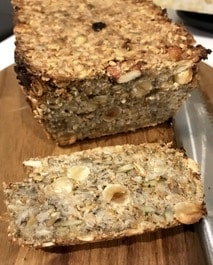 Gluten Free Bread,  vegan & yeast free