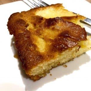 Easy Apple & Honey Cake