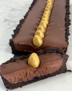 Easy Easter Chocolate Tart