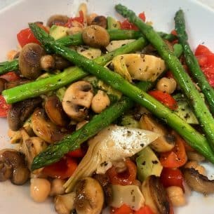 Asparagus Salad Vegan