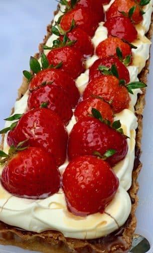 Strawberry Tart – Danish Style