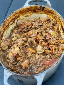 Cottage Pie Slimming World - cooked Mince
