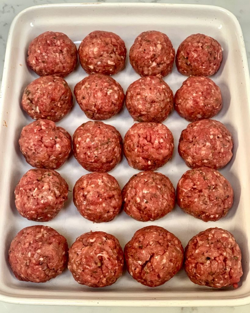 Easy Slimming World Meatballs