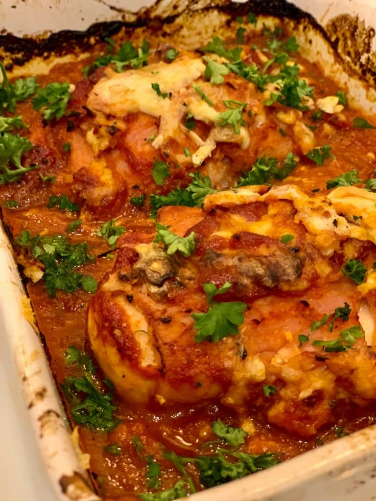 Baked Easy Hunters Chicken - Slimming