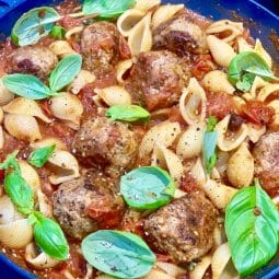Healthy Meatballs slimming style