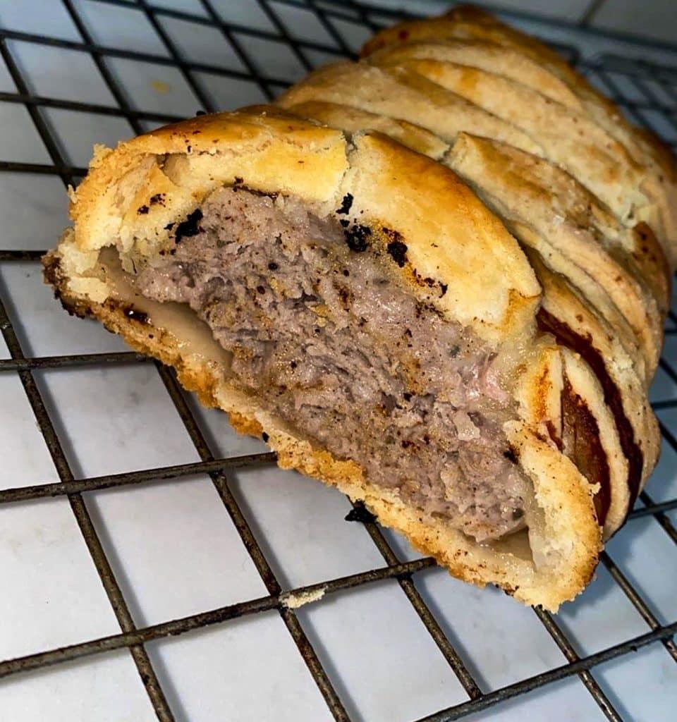 Sausage Plait - plaiting
