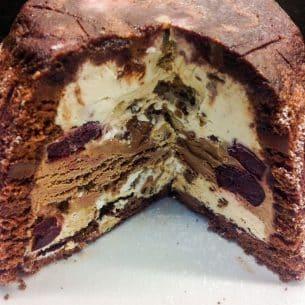 Ice Cream Cake …. Chocolate Bombe!!