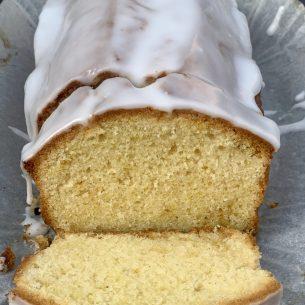 Simple Madeira Cake – Iced