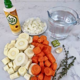 Easy Carrot & Parsnip Soup – Healthy!