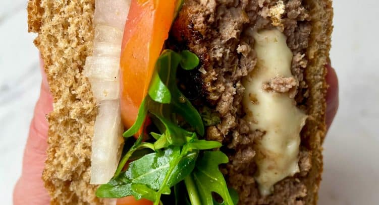 Healthy Homemade Burgers slimming style