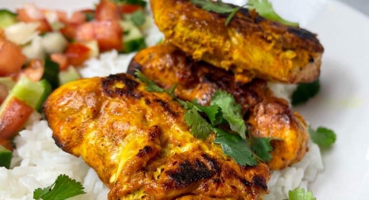 Tandoori Chicken, slimming style