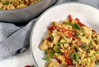 Easy Chicken & Chorizo Paella, slimming style